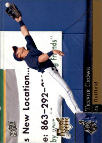 Photo of 2009 Upper Deck #1004 Trevor Crowe SP RC