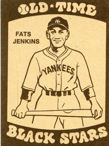 Photo of 1974 Laughlin Old Time Black Stars #28 Fats Jenkins