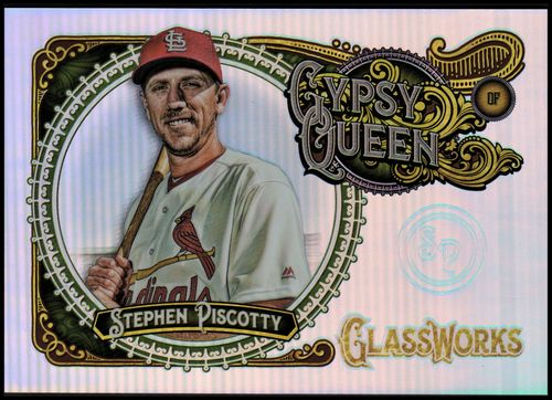 Photo of 2017 Topps Gypsy Queen GlassWorks Box Topper #GWSP Stephen Piscotty