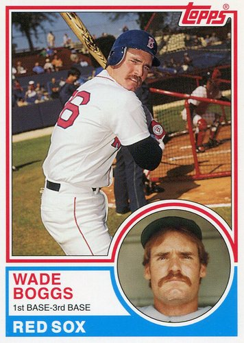 Photo of 2006 Topps Rookie of the Week #23 Wade Boggs 1983