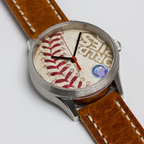 Photo of Tokens & Icons New York Yankees 2009 World Series Game-Used Baseball Watch - Game 3