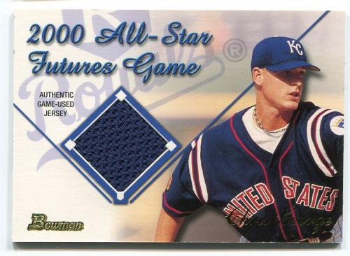 Photo of 2001 Bowman Futures Game Relics #FGRCG Chris George D