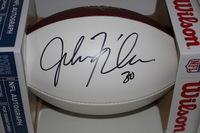 NFL - PACKERS JOHN KUHN SIGNED PANEL BALL