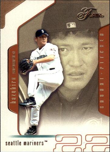 Photo of 2002 Flair #85 Kazuhiro Sasaki
