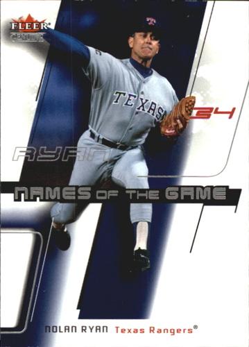 Photo of 2002 Fleer Genuine Names of the Game #24 Nolan Ryan