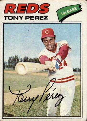 Photo of 1977 Topps #655 Tony Perez