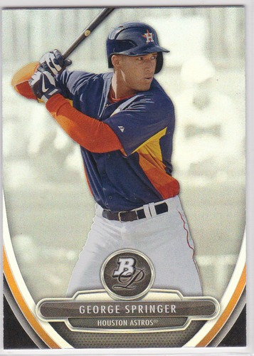 Photo of 2013 Bowman Platinum Prospects #BPP38 George Springer