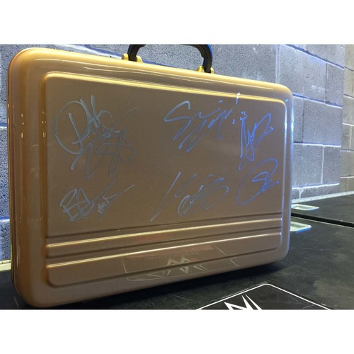 Money in the Bank Commemorative Briefcase SIGNED by Multiple Superstars