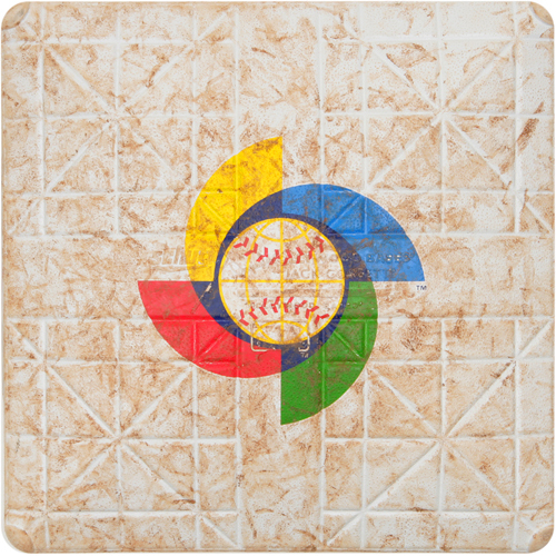 2017 WBC: Colombia at United States - 3/10/2017 - Game-Used 2nd Base