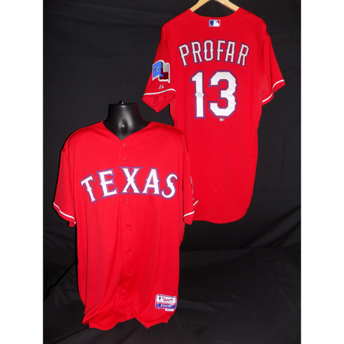 Photo of Jurickson Profar Team Issued Red Jersey - Size 44