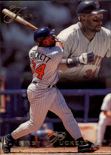 Photo of 1993 Flair #242 Kirby Puckett