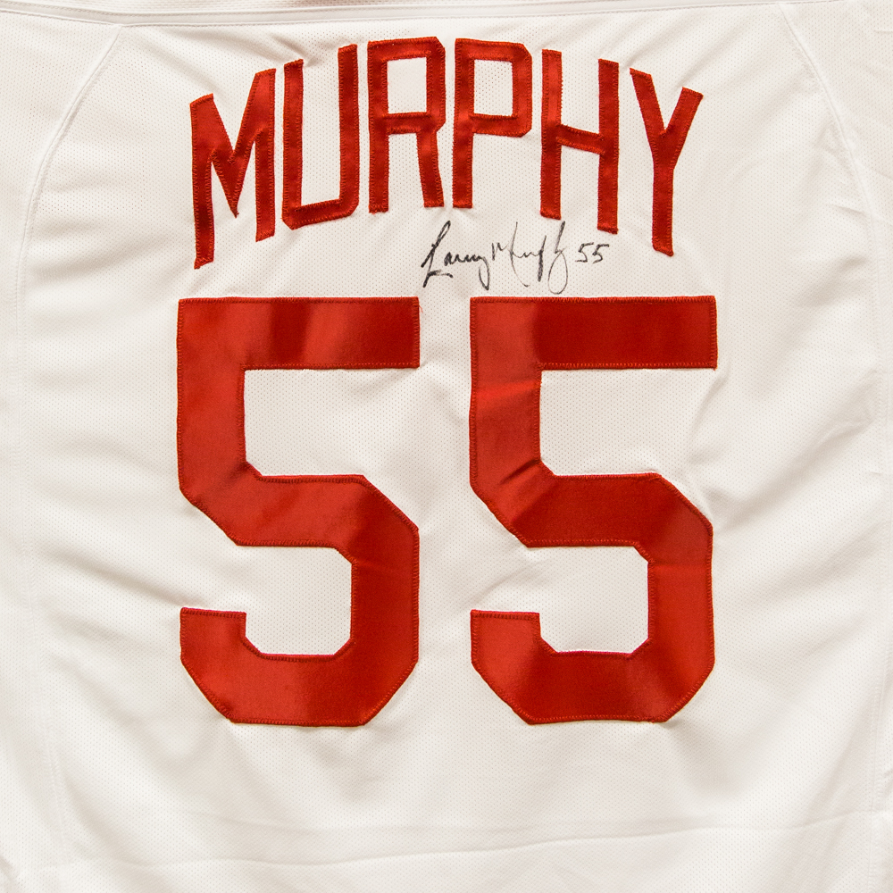 Autographed Larry Murphy Jersey from Nicklas Lidstrom Jersey Retirement Night - Detroit Red Wings