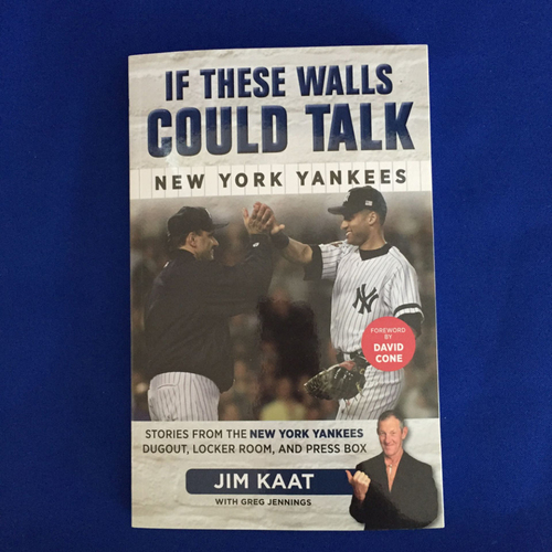 Photo of UMPS CARE AUCTION: Jim Kaat Signed Book - If These Walls Could Talk