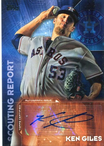 Photo of 2016 Topps Scouting Report Autographs Ken Giles