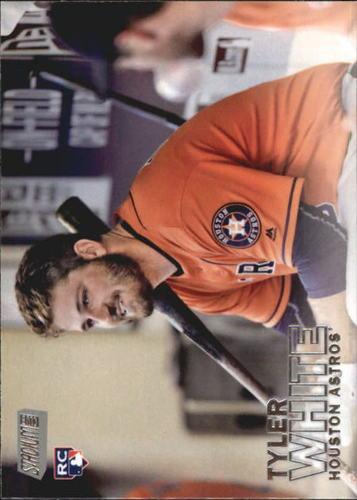 Photo of 2016 Stadium Club #77 Tyler White Rookie Card -- Astros post-season