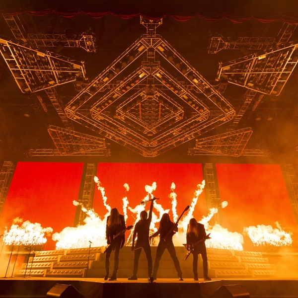 Click to view Backstage Tour with Trans-Siberian Orchestra in Phoenix.