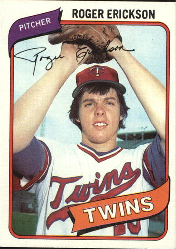 Photo of 1980 Topps #256 Roger Erickson