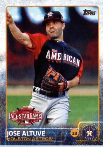 Photo of 2015 Topps Update #US201 Jose Altuve