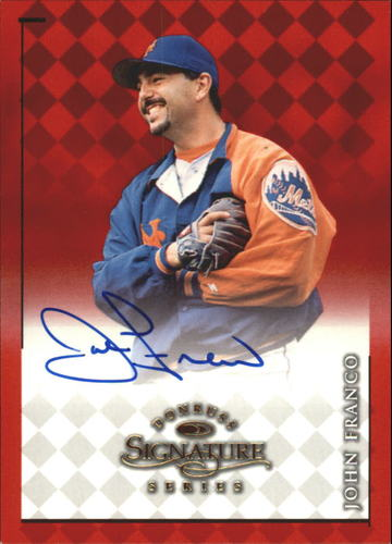 Photo of 1998 Donruss Signature Autographs #32 John Franco