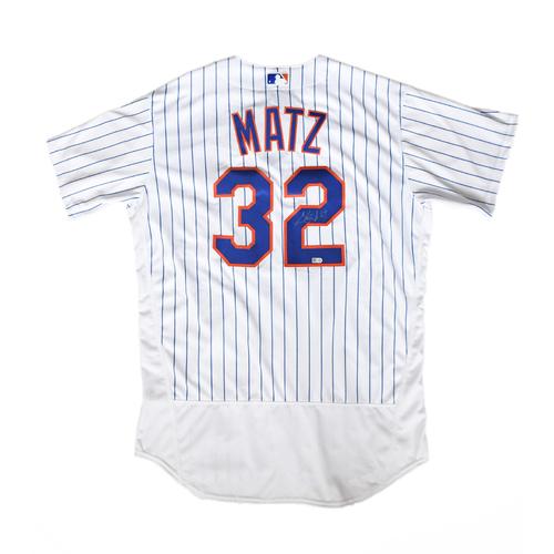 Amazin' Auction: Steven Matz Autographed Jersey - Lot # 21