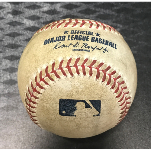 Photo of Game-Used Baseball - Herrmann/Owings/Peralta vs. Armstrong