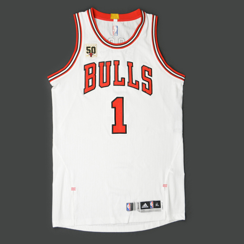 derrick rose chicago jersey