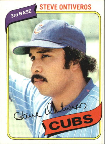 Photo of 1980 Topps #514 Steve Ontiveros