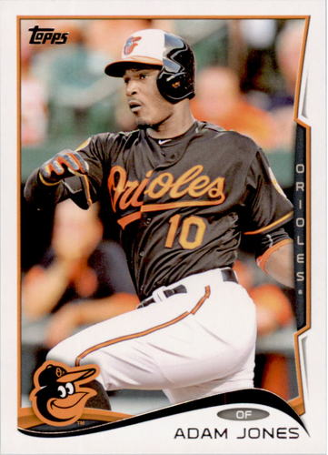 Photo of 2014 Topps #398A Adam Jones