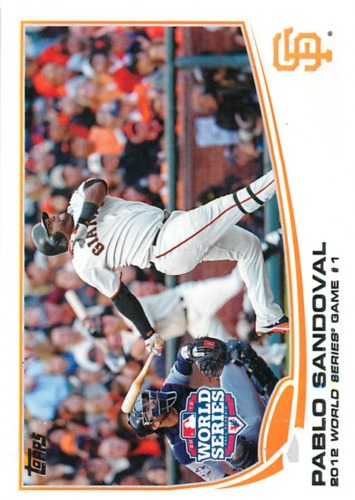 Photo of 2013 Topps #298 Pablo Sandoval