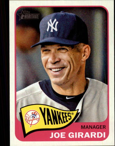 Photo of 2014 Topps Heritage #131 Joe Girardi