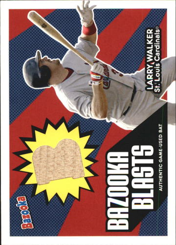 Photo of 2005 Bazooka Blasts Bat Relics #LW Larry Walker E