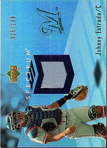 Photo of 2007 Upper Deck Spectrum Swatches #ES Johnny Estrada Jersey /199