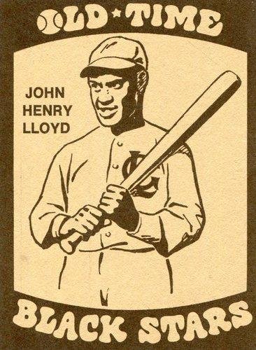 Photo of 1974 Laughlin Old Time Black Stars #33 John Henry Lloyd
