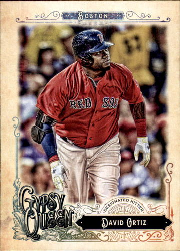 Photo of 2017 Topps Gypsy Queen #300 David Ortiz