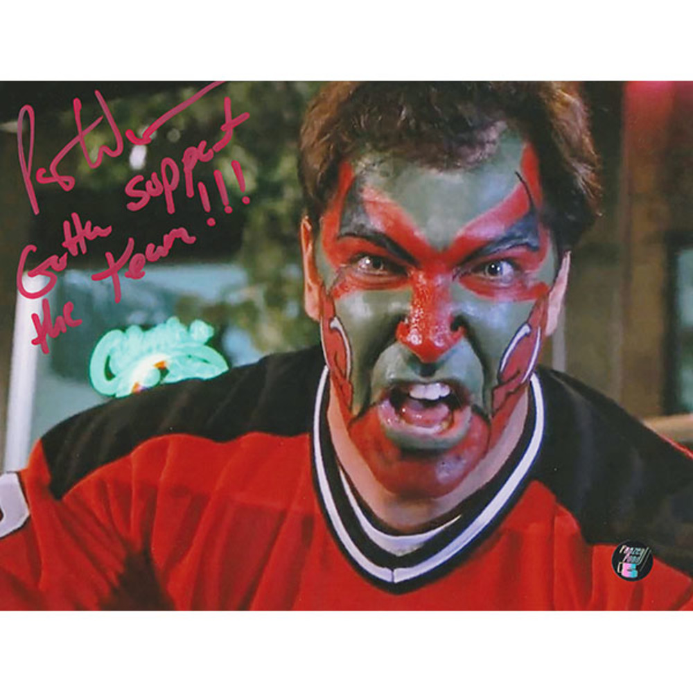 Patrick Warburton Autographed New Jersey Devils 8X10 Photo w/GOTTA SUPPORT THE TEAM Inscription (Seinfeld)