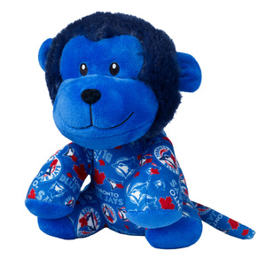Toronto Blue Jays Plush All Over Print Monkey by Forever Collectibles