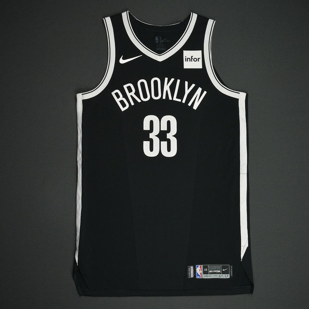 Allen Crabbe - Brooklyn Nets - NBA Mexico City Games 2017 Game-Worn Jersey - Worn In 2 Games