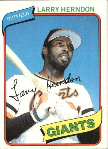 Photo of 1980 Topps #257 Larry Herndon