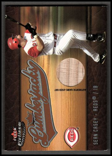 Photo of 2005 Fleer Platinum Lumberjacks Bat Silver #SC Sean Casey