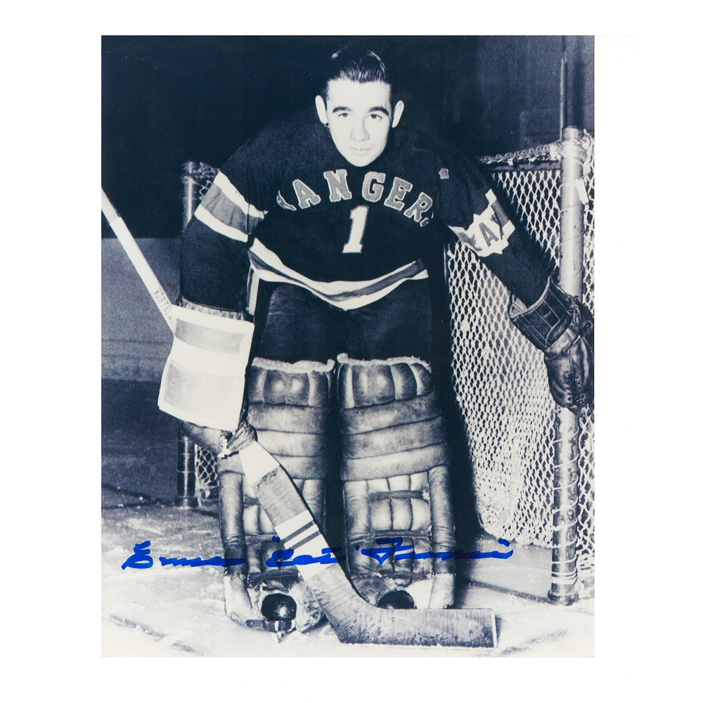 EMILE FRANCIS Signed Vintage New York Rangers 8 X 10 Photo - 70038