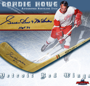 GORDIE HOWE Signed Northland Hockey Stick