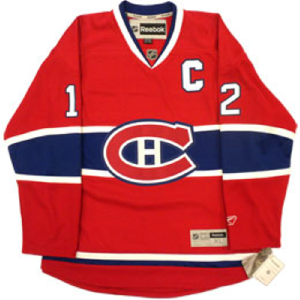 Yvan COURNOYER 10 Time Stanley Cup Champion Autographed Montreal Canadiens NHL Hockey Jersey