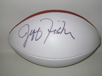RAMS - JEFF FISHER SIGNED PANEL BALL