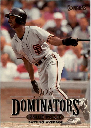 Photo of 1994 Donruss Dominators Jumbos #B8 Willie McGee