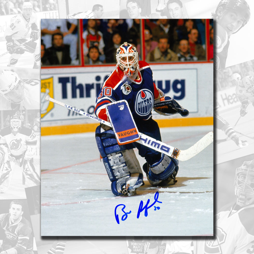 Bill Ranford Edmonton Oilers Autographed 8x10
