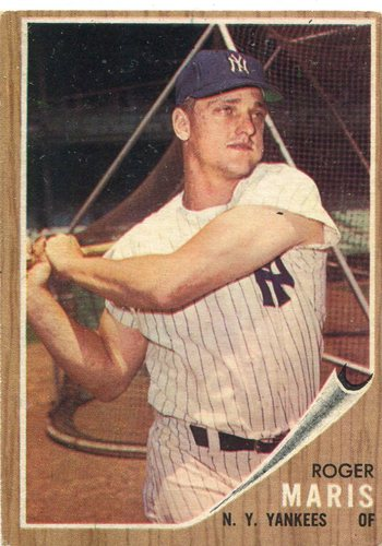 Photo of 1962 Topps #1 Roger Maris