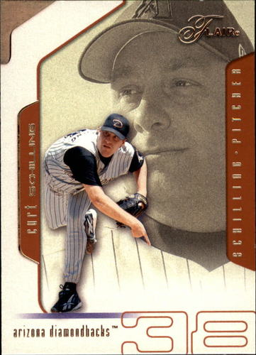 Photo of 2002 Flair #89 Curt Schilling