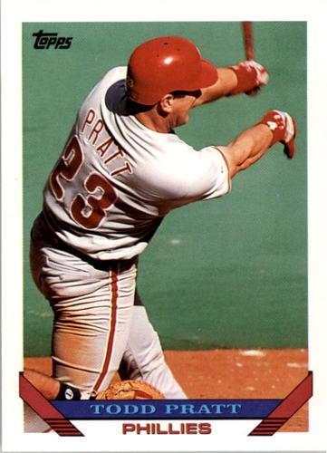 Photo of 1993 Topps #479 Todd Pratt RC
