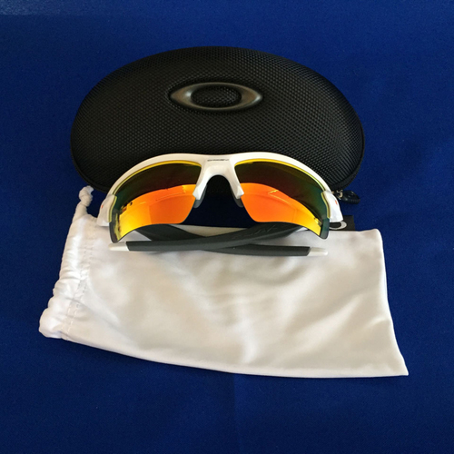 Photo of UMPS CARE AUCTION: Oakley High Definition Optic Sport Sunglasses - White