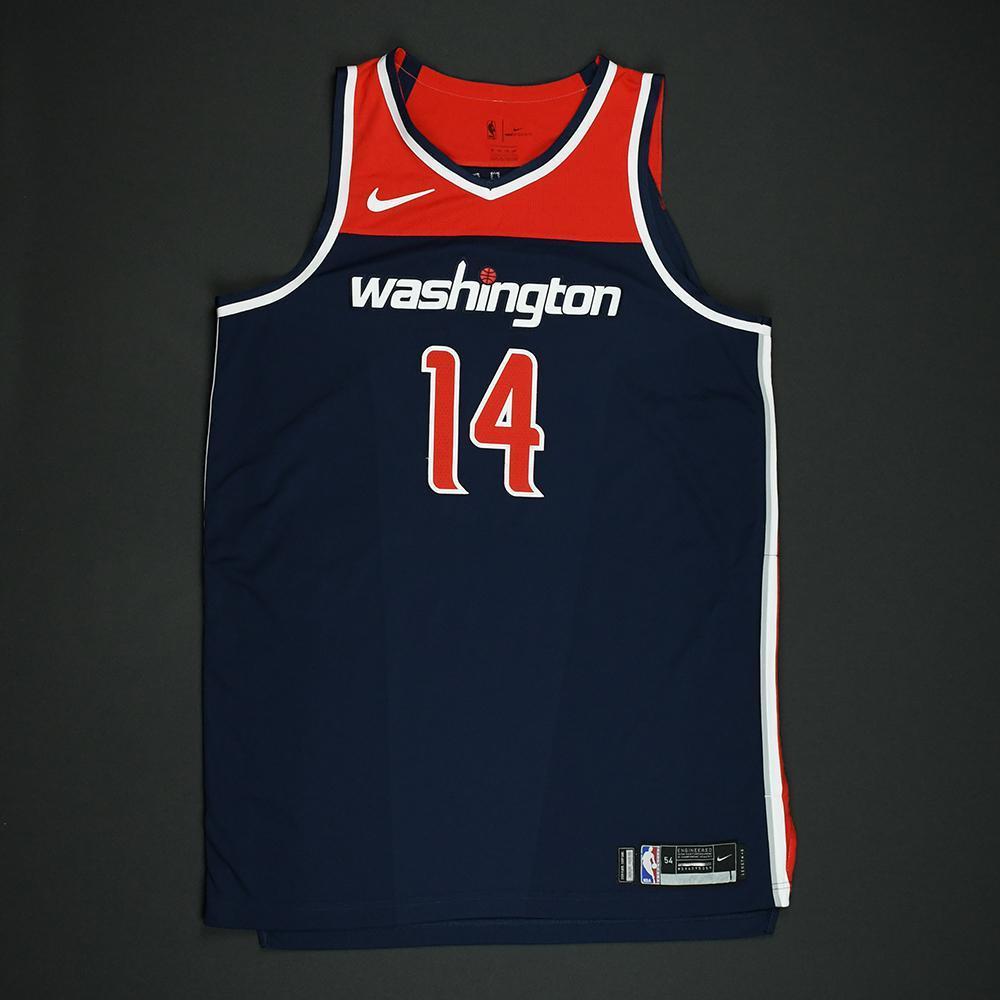 Jason Smith - Washington Wizards - 2018 NBA Playoffs Game-Worn 'Statement' Jersey - Dressed, Did Not Play